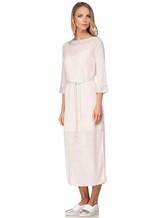 Платье Vittoria Sedici AA1317 68% лён, 28% хлопок, 4% полиамид Розовый Италия изображение 2
