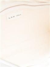Сумка L.B.M. 1911 5540 100% кожа Белый Италия изображение 8
