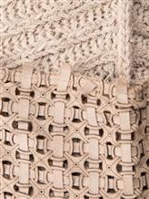 Жилет (текстильный) Lamberto Losani 243251 56% хлопок, 25% кашемир, 14% полиамид, 5% кожа Бежевый Италия изображение 5