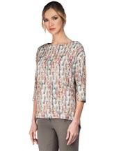 Блуза Re Vera 17002054 IT 92% шёлк, 8% эластан Мультиколор Италия изображение 3