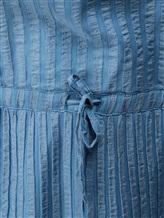 Платье Massimo Alba EBE 70% хлопок, 30% шёлк Серо-голубой Италия изображение 4