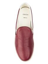 Кеды EREDA 1128PF7E 100% кожа Бордовый Италия изображение 4
