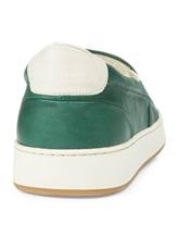 Кеды EREDA 1128PF7E 100% кожа Зеленый Италия изображение 3