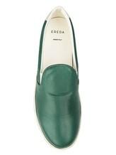 Кеды EREDA 1128PF7E 100% кожа Зеленый Италия изображение 4