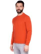 Джемпер Brunello Cucinelli 73000 100%кашемир Оранжевый Италия изображение 2