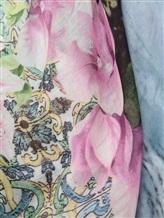 Палантин Francesca Bassi D17E-F102 100% модал Розово-зеленый Италия изображение 1