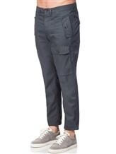 Брюки Brunello Cucinelli E1630 100% хлопок Темно-серый Италия изображение 2