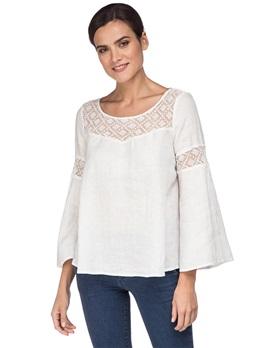 Блуза 120% Lino L0W1439