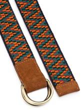 Ремень Missoni 535059 60% кожа, 40% хлопок Оранжевый Италия изображение 1