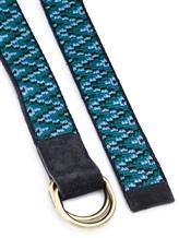 Ремень Missoni 535059 60% кожа, 40% хлопок Синий Италия изображение 1
