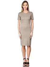 Платье Les Copains 0L5440 65% вискоза, 29% полиамид, 6% эластан Серо-бежевый Румыния изображение 1