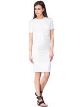 Платье Les Copains 0L5440 65% вискоза, 29% полиамид, 6% эластан Белый Румыния изображение 0