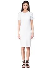 Платье Les Copains 0L5440 65% вискоза, 29% полиамид, 6% эластан Белый Румыния изображение 1