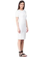 Платье Les Copains 0L5440 65% вискоза, 29% полиамид, 6% эластан Белый Румыния изображение 2