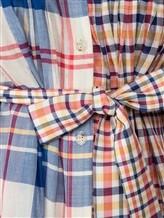 Платье Tsumori Chisato TC77FH007 100%хлопок Сине-красный Китай изображение 4