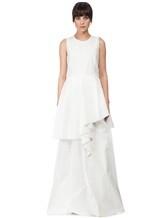 Платье Brunello Cucinelli A4278 75% хлопок, 25% полиамид Белый Италия изображение 1