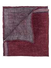 Платок Brunello Cucinelli 0091 100% лён Бордовый Италия изображение 1