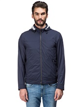 Куртка Mandelli A3T513 95% полиэстер, 5% полиуретан Синий Италия изображение 1