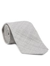 Галстук Brunello Cucinelli 0018 100% шерсть Светло-серый Италия изображение 0