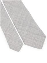 Галстук Brunello Cucinelli 0018 100% шерсть Светло-серый Италия изображение 2