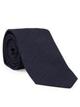 Галстук Brunello Cucinelli 0018 100% шерсть Темно-синий Италия изображение 0
