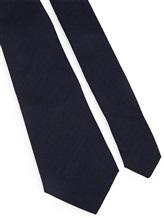 Галстук Brunello Cucinelli 0018 100% шерсть Темно-синий Италия изображение 1