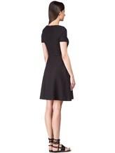 Платье ANTONELLI LASVEGAST6326 95% хлопок, 5% эластан Черный Италия изображение 3