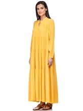 Платье Semi COUTURE E7EL01 65% ацетат, 35% шёлк Желтый Италия изображение 2