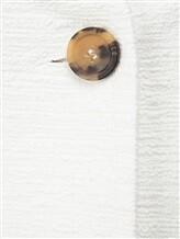 Пальто Peserico S23109 98% хлопок, 2% фибра Белый Италия изображение 4