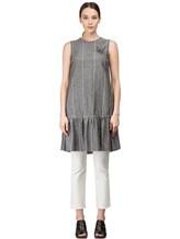 Платье Brunello Cucinelli AS501 54% шерсть, 46% лён Серый Италия изображение 1