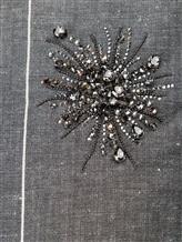 Платье Brunello Cucinelli AS501 54% шерсть, 46% лён Серый Италия изображение 4