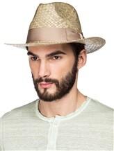 Шляпа EREDA 15/ED-078 100% солома Светло-бежевый Италия изображение 1