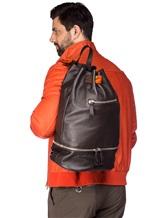 Рюкзак Orciani P0 100% кожа Коричневый Италия изображение 1