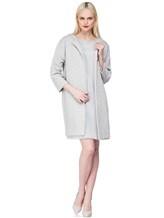 Пальто EREDA EDC070 90% хлопок, 7% полиамид, 3% эластан Серый Италия изображение 0