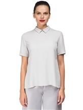 Блуза ANTONELLI B0L0GNAT2431 52% шёлк, 48% ацетат Светло-серый Италия изображение 1