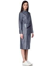 Платье Semi COUTURE P7EM05 100%хлопок Серо-синий Италия изображение 2