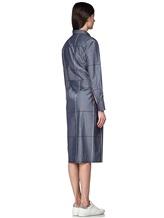Платье Semi COUTURE P7EM05 100%хлопок Серо-синий Италия изображение 3