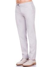 Брюки Brunello Cucinelli F1050 100% хлопок Светло-серый Италия изображение 2