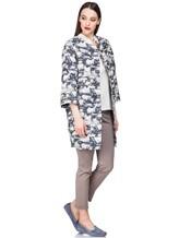 Пальто Peserico S23115 67% хлопок, 33% полиэстер Бело-синий Италия изображение 0