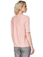 Джемпер Peserico S99593F12 100%хлопок Бледно-розовый Италия изображение 3