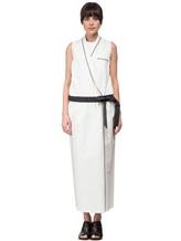 Платье Brunello Cucinelli A4267 75% хлопок, 25% нейлон Белый Италия изображение 1