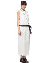 Платье Brunello Cucinelli A4267 75% хлопок, 25% нейлон Белый Италия изображение 2