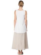 Платье Re Vera 17002017 89% шёлк, 11% эластан Бело-бежевый Италия изображение 3