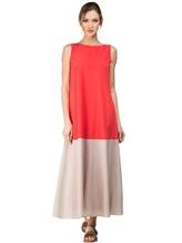 Платье Re Vera 17002017 89% шёлк, 11% эластан Красный Италия изображение 0