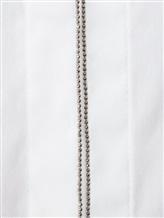 Рубашка Brunello Cucinelli M8816 72% хлопок, 23% полиамид, 5% эластан Белый Италия изображение 5