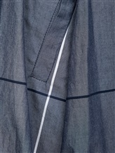 Брюки Semi COUTURE P7EM01 100%хлопок Серо-синий Италия изображение 4