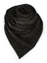 Шарф EREDA D4117B 80% кашемир, 20% полиамид Черный Италия изображение 1