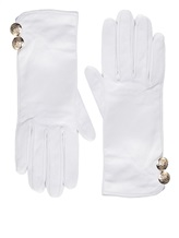 Перчатки Francesco Scognamiglio GU52 100% кожа Белый Италия изображение 0
