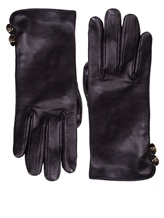 Перчатки Francesco Scognamiglio GU52 100% кожа Черный Италия изображение 0