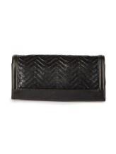Клатч-сумка Missoni 174980 100% кожа Черный Италия изображение 3
